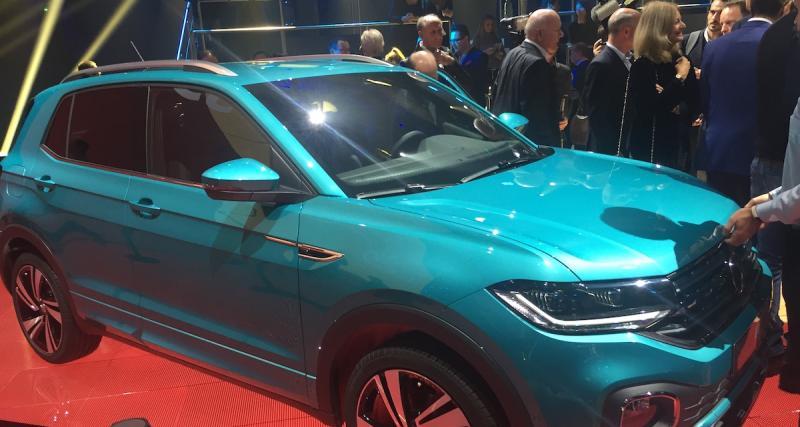 Volkswagen T-Cross: notre vidéo exclusive du petit SUV