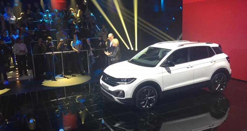 A bord du nouveau Volkswagen T-Cross (2018) !