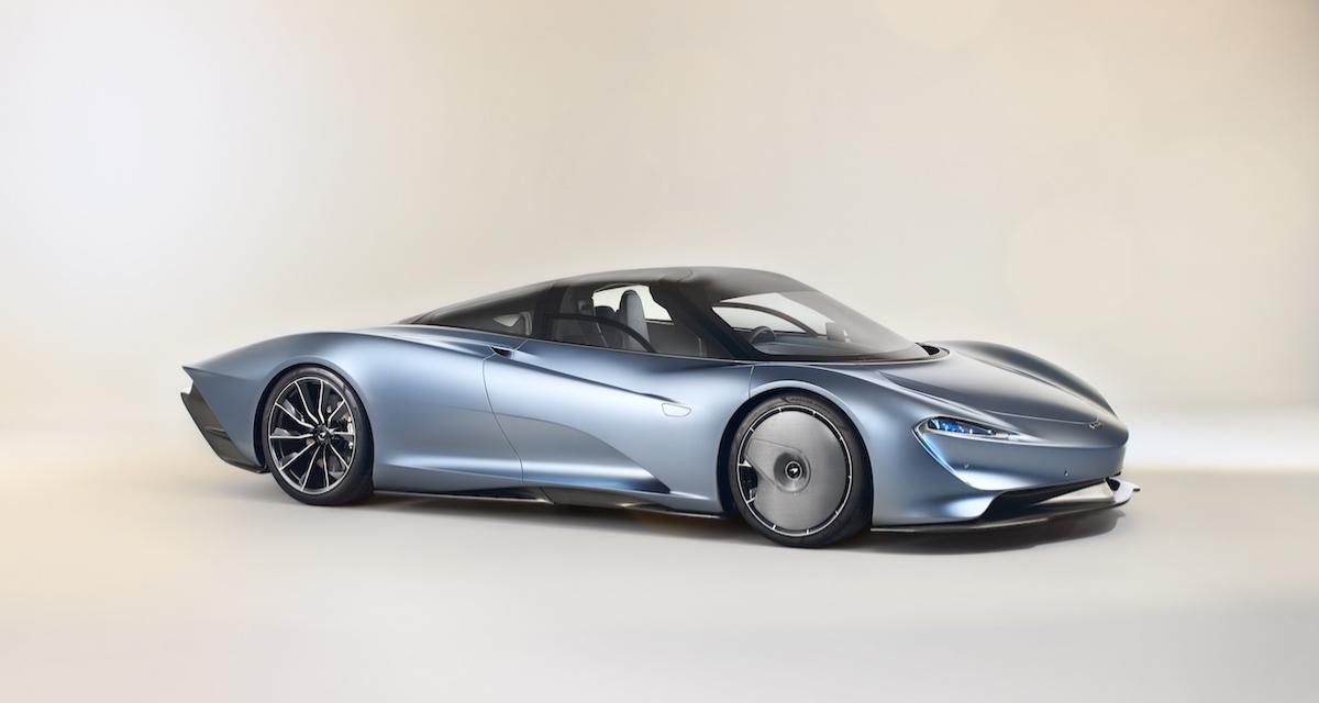 McLaren Speedtail : l'hommage surprenant à la F1