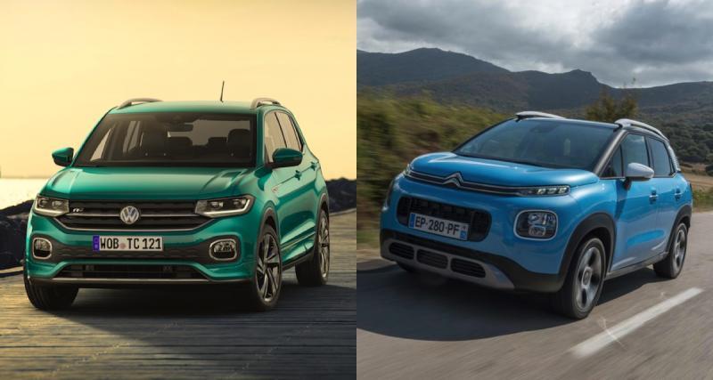 Volkswagen T-Cross vs Citroën C3 Aircross : le cubisme à l'honneur