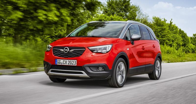 Opel Crossland X : le prix du nouveau moteur Diesel 1.5 120 ch