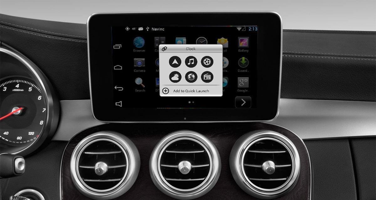 """Un ordinateur Android """"plug and play"""" pour les Mercedes avec autoradio NTG5 ou NTG5.1"""