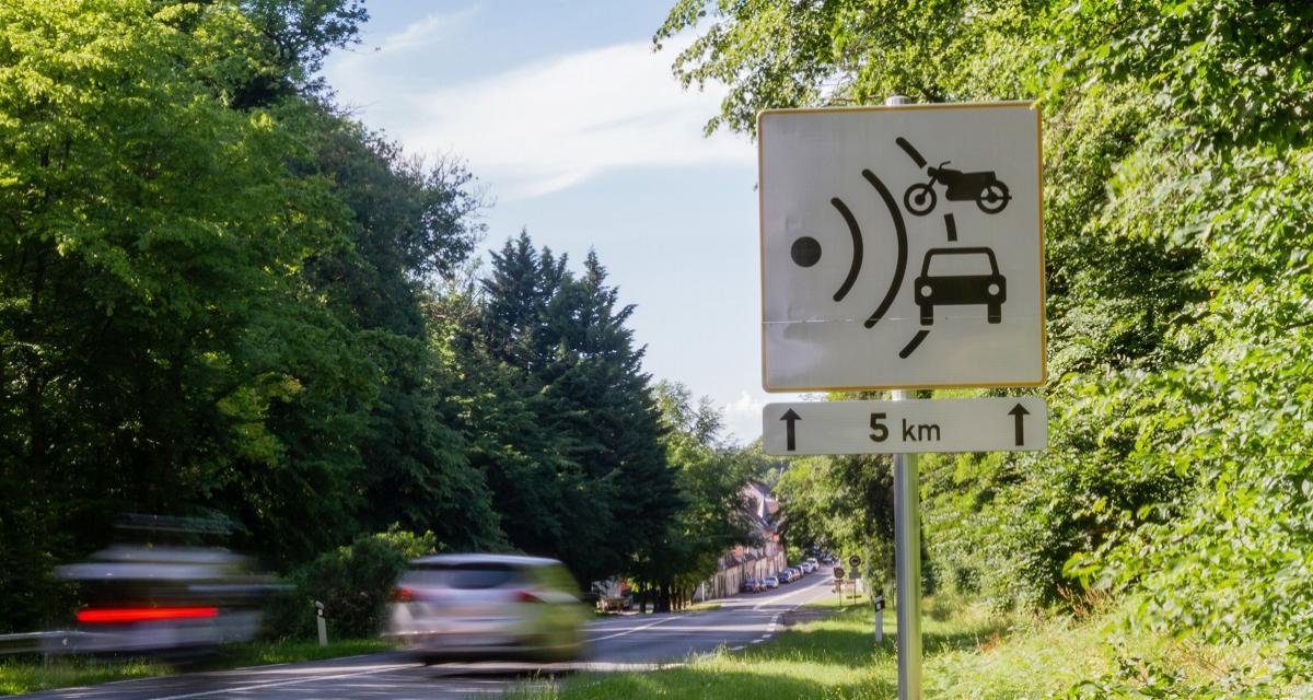 Flashé à 201 km/h en Audi A3 sur une nationale