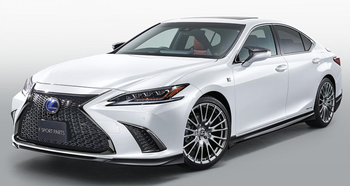 Lexus lance l'ES F Sport TRD