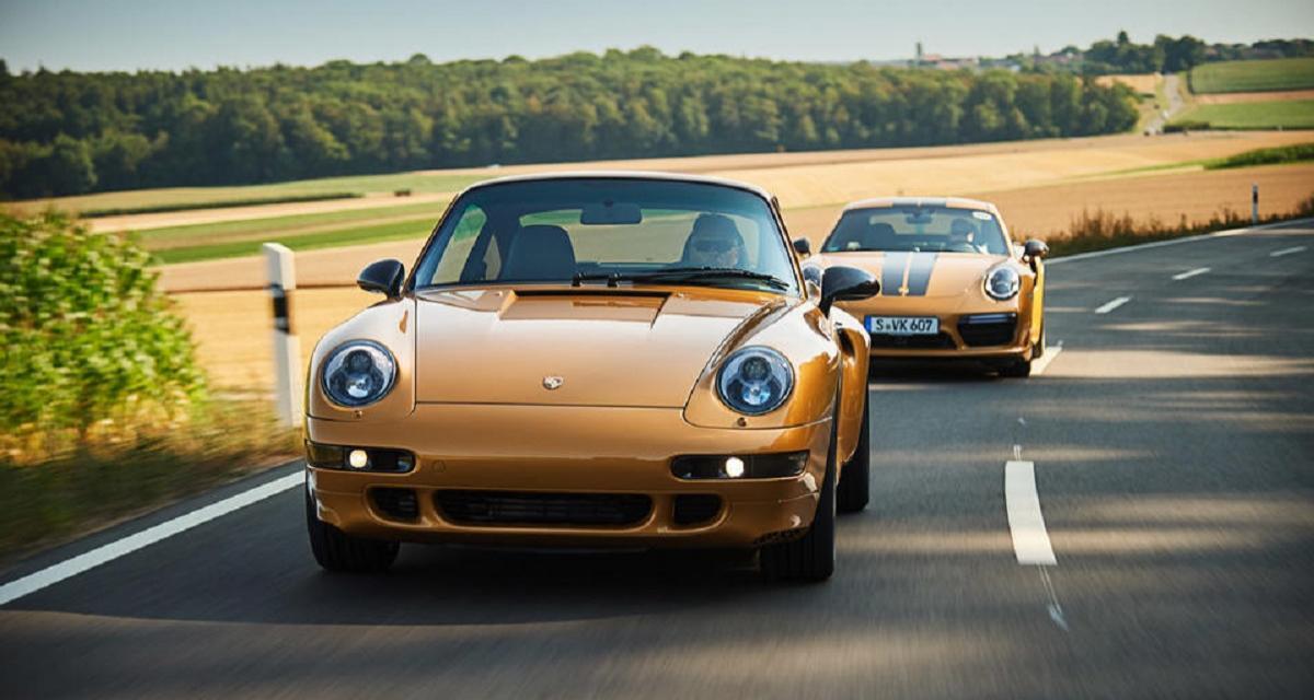 La Porsche 911 (type 993) Gold Project vendue 2,7 millions d'euros !
