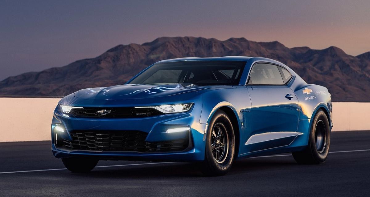 Chevrolet Camaro eCOPO : la foudre électrique