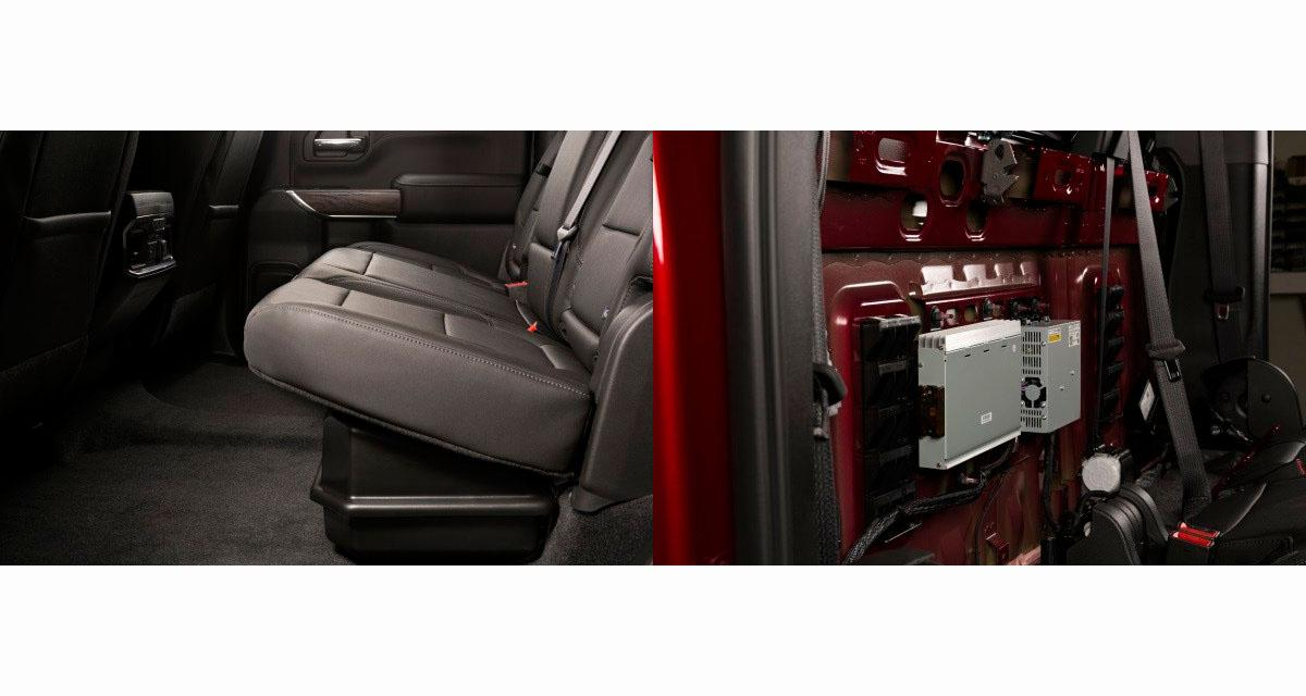 Au Sema Show, Kicker présentait deux options hi-fi pour les pick-up Chevrolet Silverado et GMC Sierra