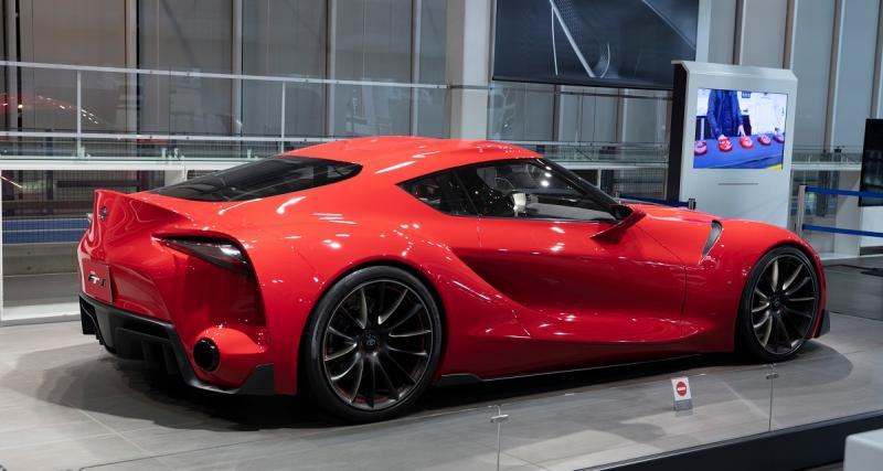 Nouvelle Toyota Supra : dévoilée en janvier au Salon de Detroit