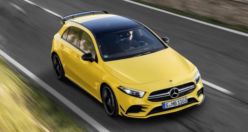 Prix Mercedes-AMG A 35 4Matic : moins chère qu'une Audi S3