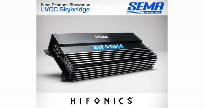 Au Sema Show, Hifonics présentait un nouvel ampli pour introduire une nouvelle gamme car audio