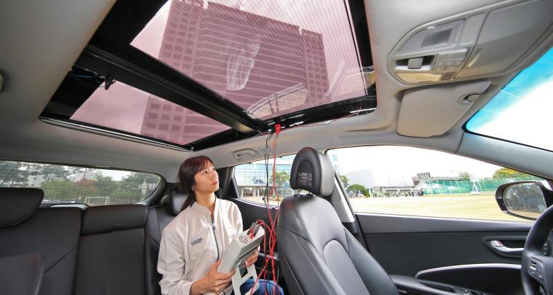 Des panneaux semi-transparents pour les thermiques