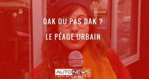 EXCLU : le péage urbain, dak ou pas dak ?