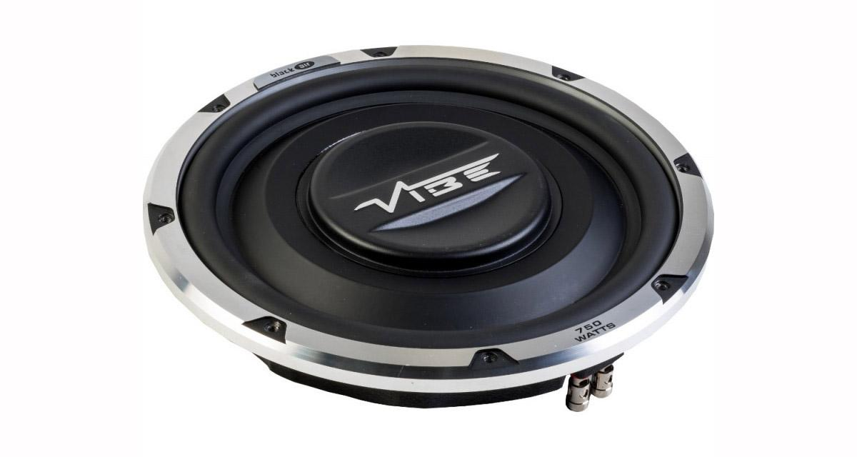 Un subwoofer slim puissant à un prix attractif chez Vibe Audio