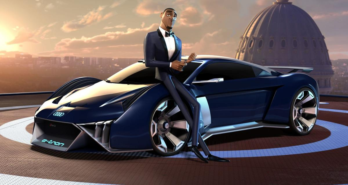 Will Smith et l'Audi RSQ de retour dans Spies in Disguise