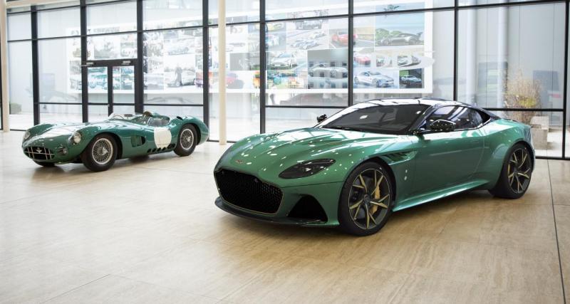 Aston Martin DBS 59 : hommage à la victoire d'Aston Martin au Mans