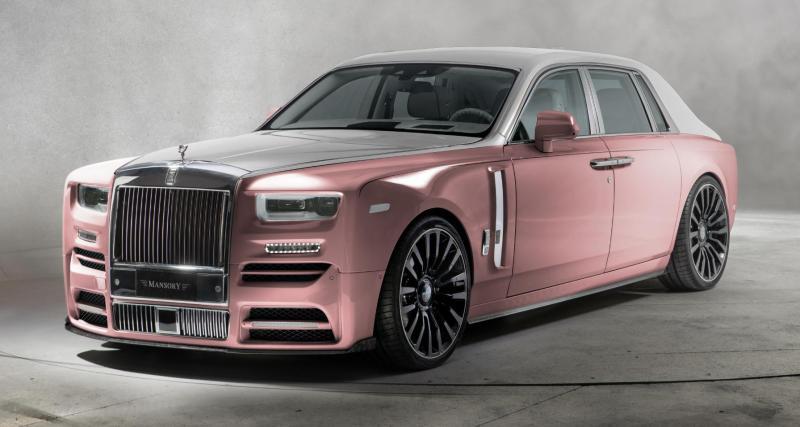 Mansory s'attaque à la nouvelle Rolls-Royce Phantom