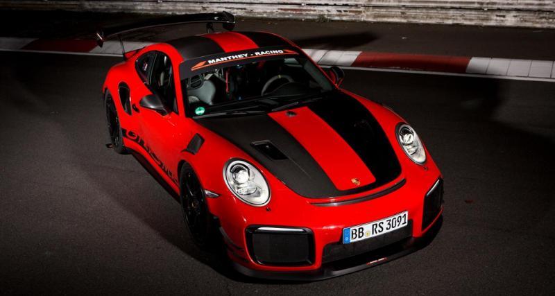 Porsche 911 GT2 RS : une version plus efficace signée Manthey Racing
