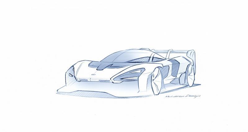 McLaren Senna GTR : vendue 1 251 000 euros !