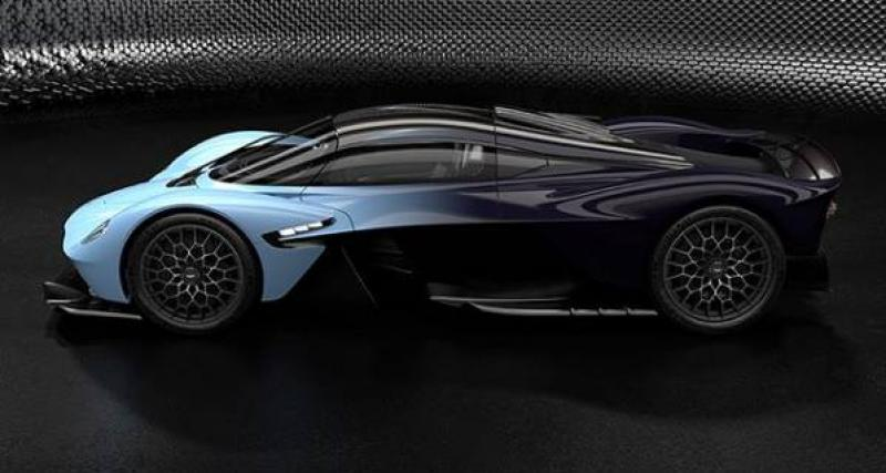 Aston Martin Valkyrie : les photos de la version définitive