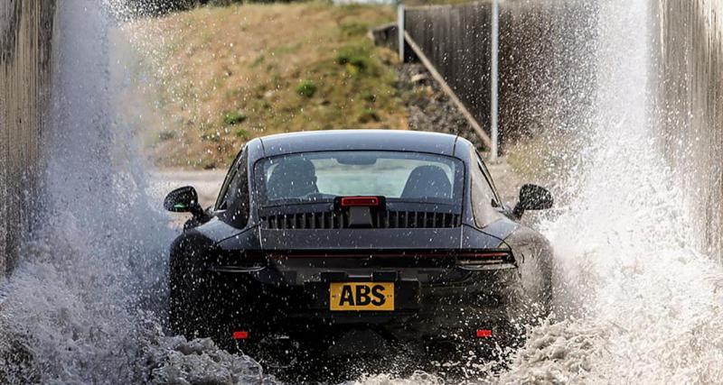 Voici la nouvelle Porsche 911 poussée à la limite