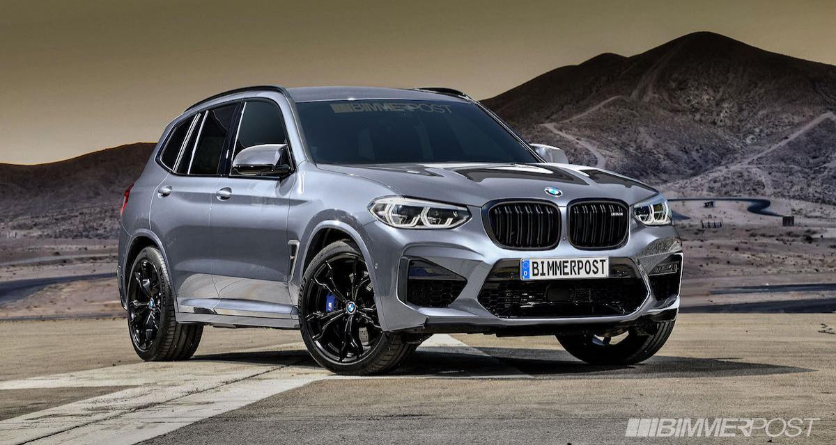 """Les BMW X3 M et X4 M """"en avance"""""""