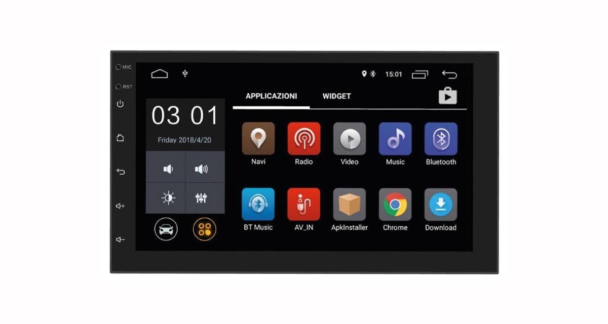 Profitez de nombreux services connectés, avec l'autoradio Android Phonocar VM001E
