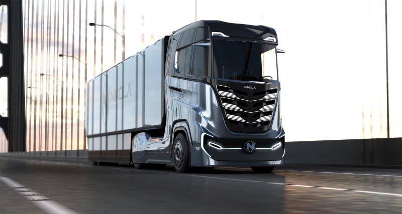 Nikola Tre : le camion à hydrogène pensé pour l'Europe