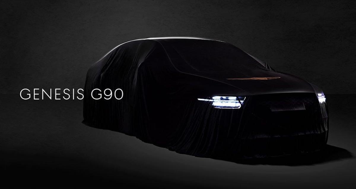Genesis G90 : nouveau visage pour le fleuron du luxe chez Hyundai