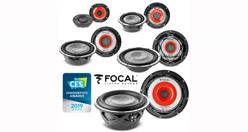 Focal reçoit un prix de l'Innovation pour le CES 2019 avec sa gamme Utopia M