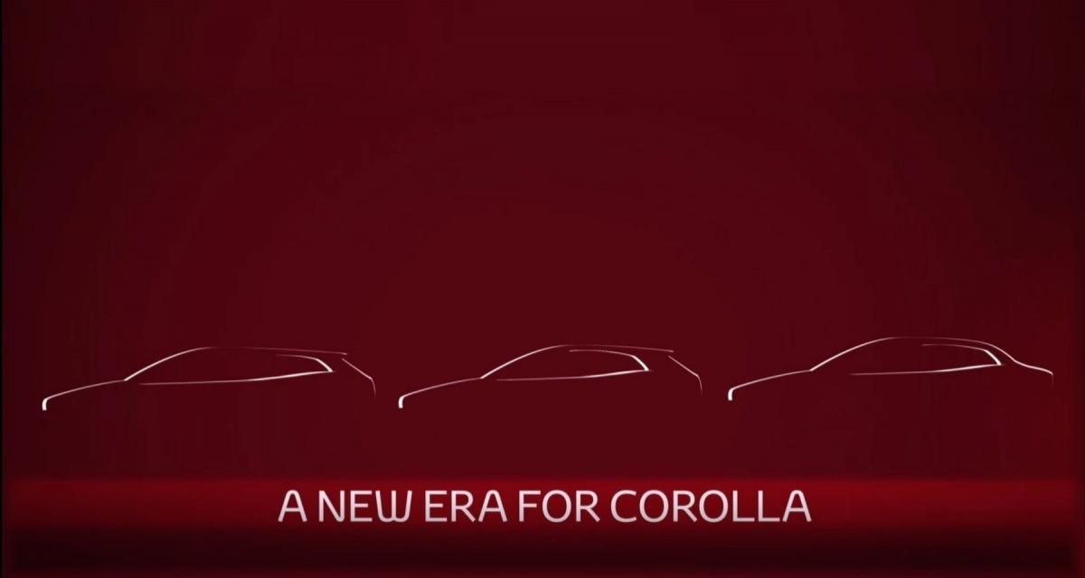 Nouvelle Toyota Corolla : il y aura une version tricorps !