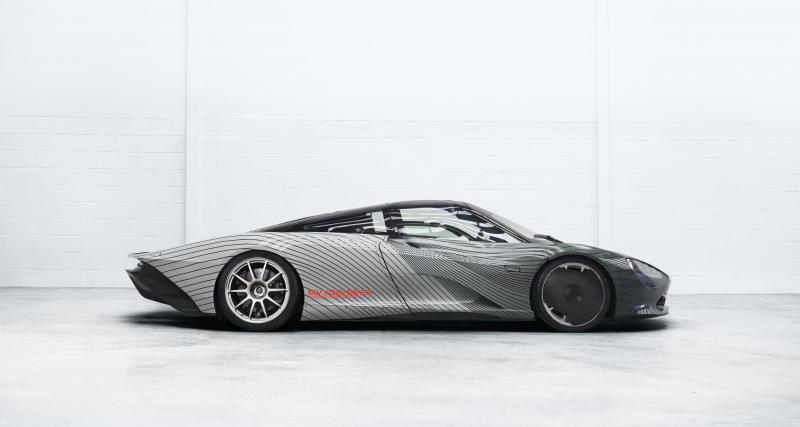 Voici Albert, la première McLaren Speedtail roulante