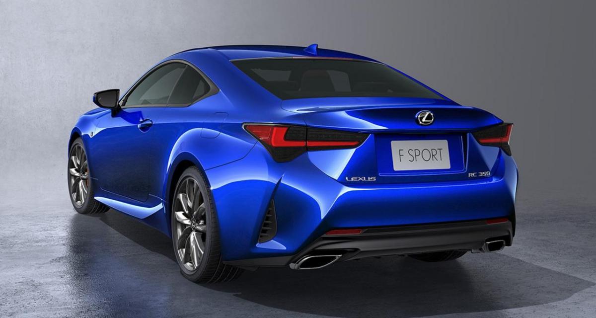 Lexus RC 300h : les tarifs officiels
