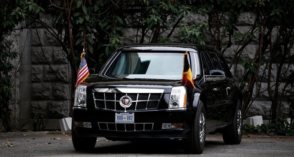 Quand la Cadillac de Trump enfume l'Elysée