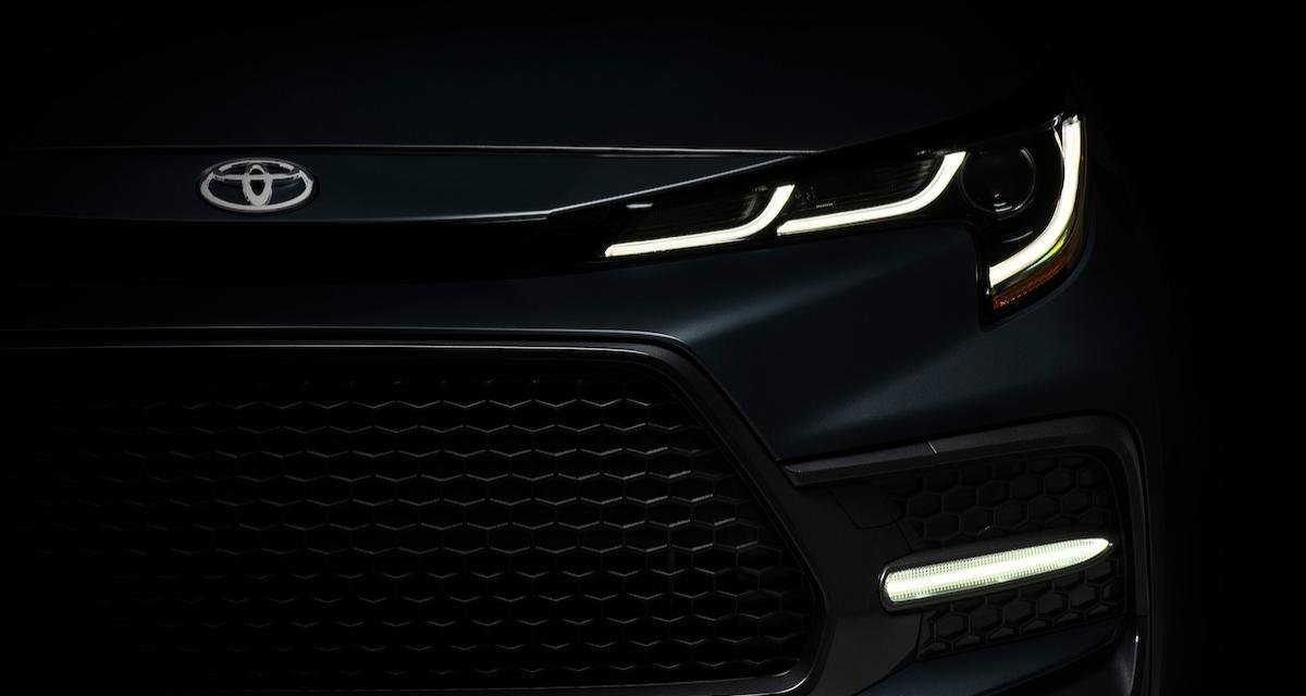 Toyota Corolla Berline : une face avant plus agressive pour la version américaine
