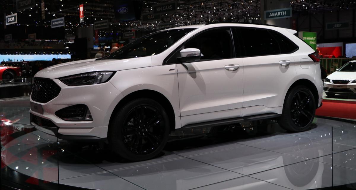 Ford Edge restylé : légère augmentation des tarifs