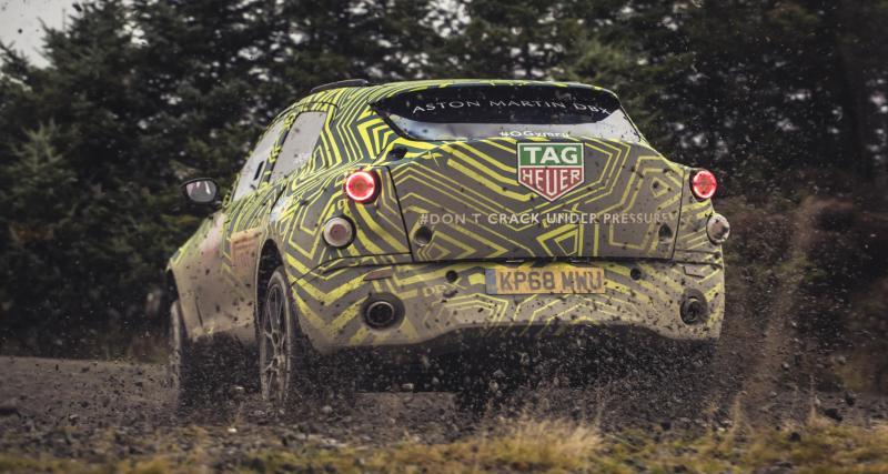 Les premières images révélées — Aston Martin DBX