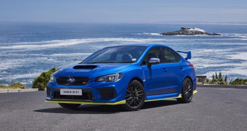 Subaru WRX STi Diamond Edition : petite série, hautes performances