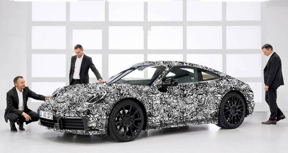 Porsche 911 992 : une 1ère vidéo avant le salon de Los Angeles