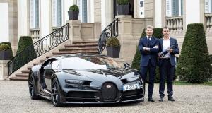 Bugatti a maintenant son champagne !