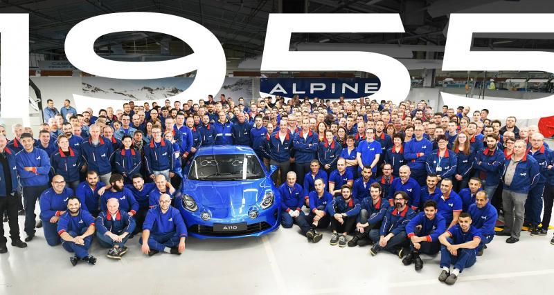 Clap de fin pour l'Alpine A110 Première Edition