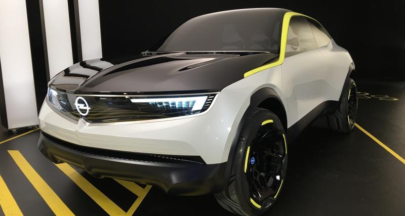 Opel GT X Experimental : une nouvelle vision du SUV compact