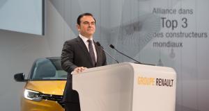 Renault maintient Carlos Ghosn à sa tête, mais un intérim s'organise