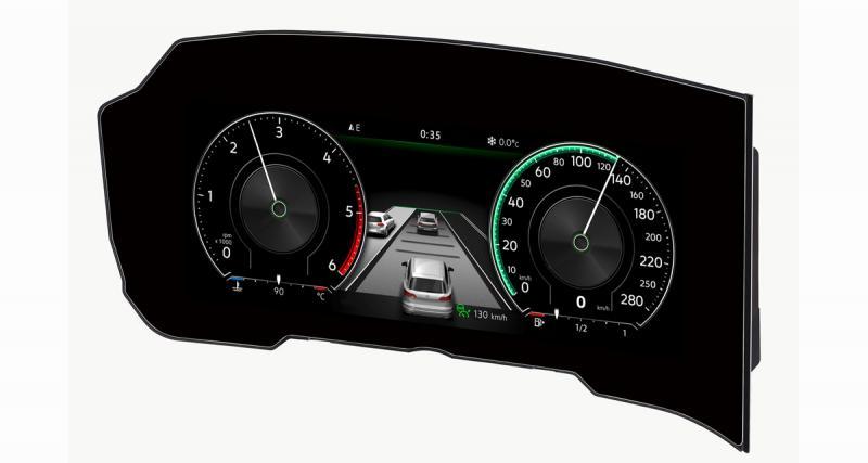 Bosch dévoile le premier combiné d'instrumentation incurvé sur le nouveau VW Touareg