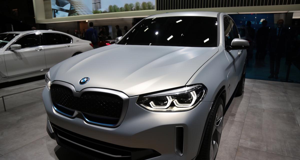 Le BMW iX3 ouvre ses précommandes en France