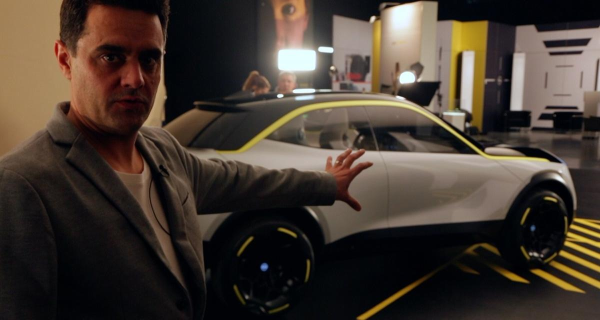 Opel GT X Experimental : une histoire de design (vidéo)