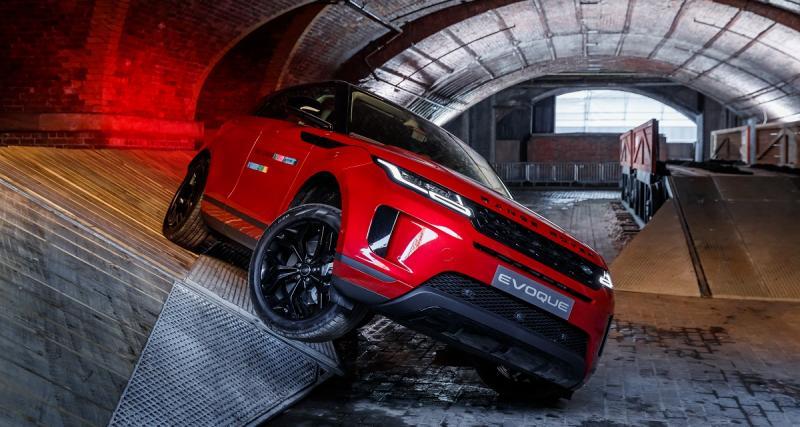 Range Rover Evoque : toutes les photos et le prix du SUV