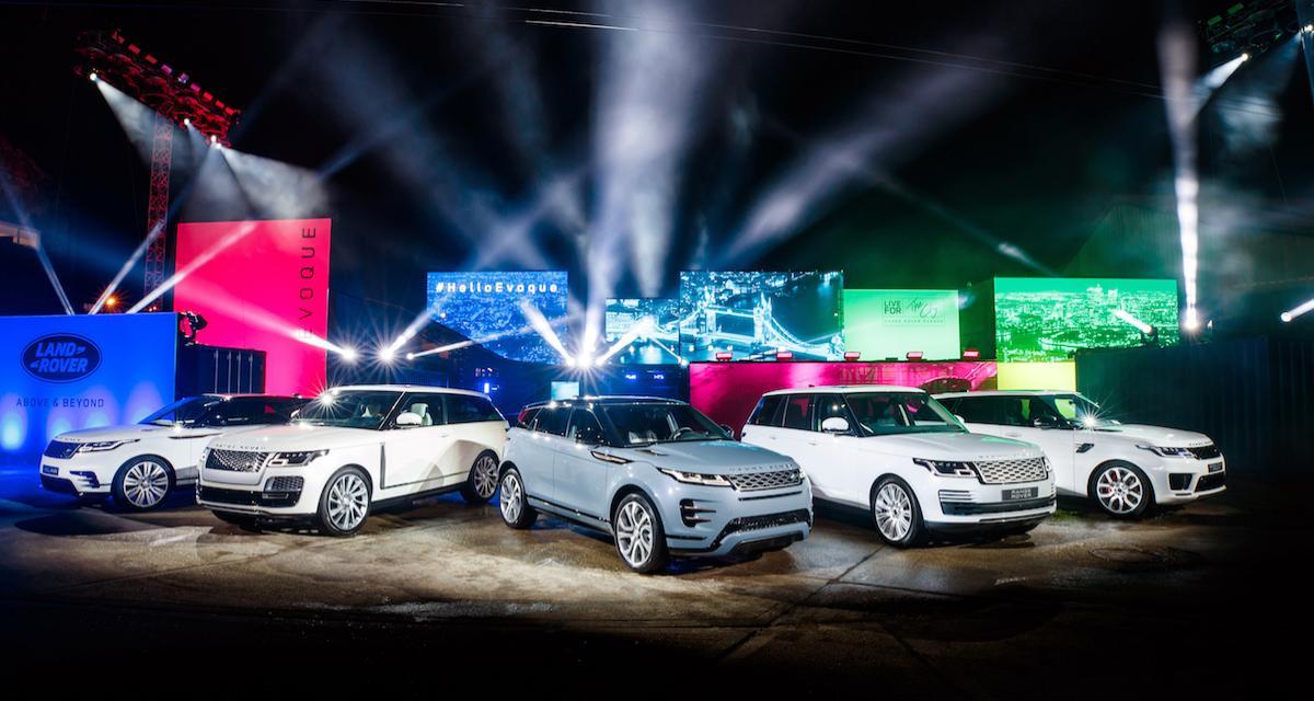 Nouveau Range Rover Evoque : velouté de Velar
