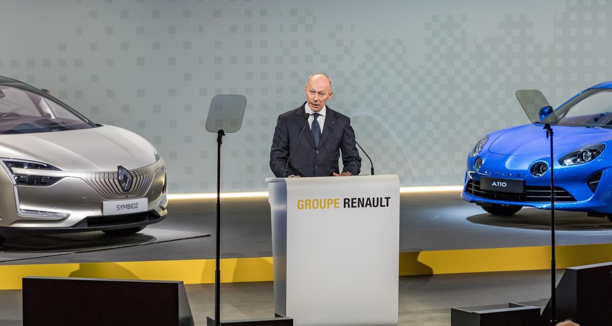 Vidéo : le patron intérimaire de Renault tient à rassurer ses troupes