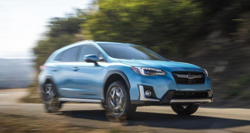 Le Subaru Crosstrek PHEV en 4 points