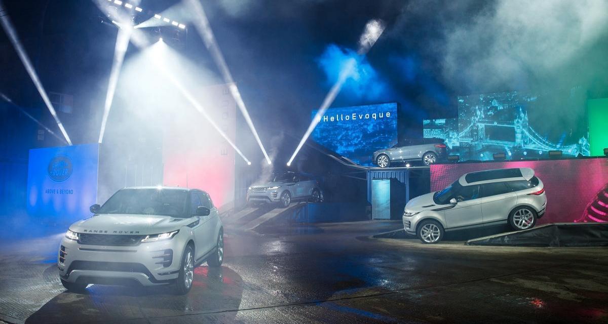 Le nouveau Range Rover Evoque en 4 points